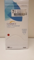 GAMMEX GLOVES LATEX POWDERED #7.5, BOX 50
