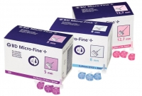 BD Ultra-Fine Needle 31G x 5mm, Box 100