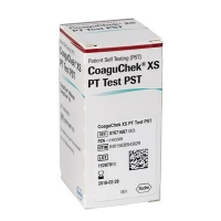 COAGUCHEK XS PT TEST STRIPS, BOX 24