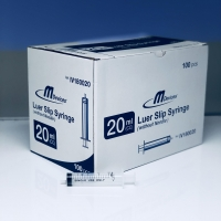 M Devices Syringe 20ml L-Slip, Box 100