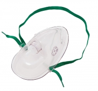 MULTIGATE OXYGEN MASK WITHOUT TUBING ADULT, EACH