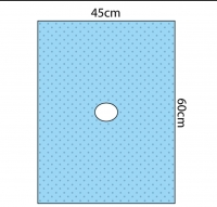 STERILE IMPERVIOUS DRAPE 45CMx60CM, EACH