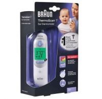 BRAUN THERMOSCAN TYMPANIC EAR THERMOMETER IRT6030, EACH