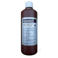 Betadine Antiseptic Liquid 500ml, Each