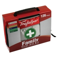 Family First Aid Kit 126pc