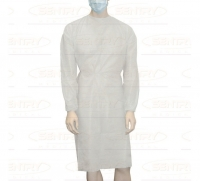 OWEAR SPLASH RESISTANT GOWN 30GSM WHITE, BOX 50