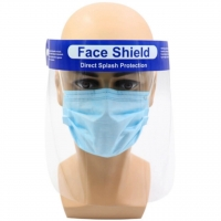 FACE SHIELD SPLASH RESISTANT 33CMx22CM EACH (AGED CARES TO ORDER CTN'S OF 400)