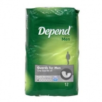 Depend Pad 400ml Shields 4871, Pkt 15