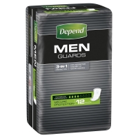 Depend Guards For Men 19068, Pkt 12