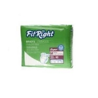 FitRight Super Briefs Medium 20pk, Pkt 20