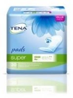 TENA Pads Super Female 860ml,  Pkt 30