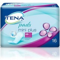 TENA PADS MINI PLUS, PKT 16
