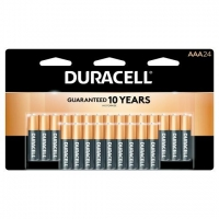 BATTERY DURACELL AAA, Pkt 24