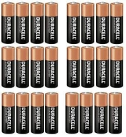 Duracell Battery AA 24`s, Pkt 24