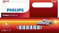 Phillips Battery/Alkaline AAA, Pkt 12