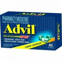 Advil Liquid Capsules, Box 40