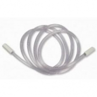 Oxygen Tubing Green W/White Connector 3m