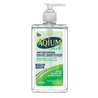 Ego Aqium Hand Sanitiser Aloe 375ml, each