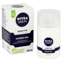 Nivea Men Face Care Hydro Gel/ 50ml Sensitive, Each