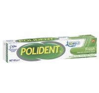 POLIDENT ADHESIVE DENTURE CREAM 60G, EACH
