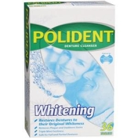 POLIDENT DENTURE CLEANSING TABLETS, BOX 36