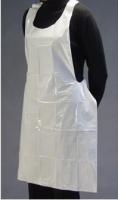 Owear Plastic Aprons 81cm x 132cm White, Box 100