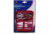 MANICURE SET WITH TRAVEL CASE, EACH