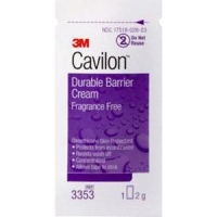 3M CAVILON DURABLE BARRIER CREAM 2G SACHET, BOX 20'S