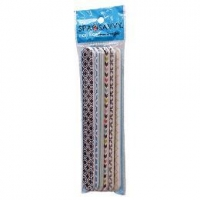 Nail File Emery Board, Pack 6