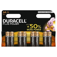 BATTERY DURACELL AA PKT 8