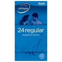 LifeStyle Regular Condom, Box24