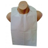 Cello Disposable Bibs with Ties