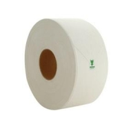 Cap Green Jumbo Toilet Roll 1 Ply, 500M