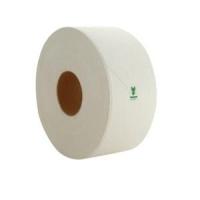 Cap Green Jumbo Toilet Roll 1 Ply, 500M