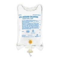 SODIUM CHLORIDE FOR IV THERAPY 0.9% 500ML, EACH