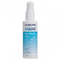 HAMILTON AQUAE DRY MOUTH SPRAY 100ML EACH