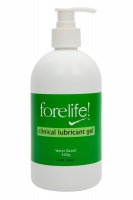 ForeLife Clinical Lubricant Gel Pump500g