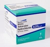 MINIMS AMETHOCAINE TETRACAINE HYDRO 0.5%, BOX 20