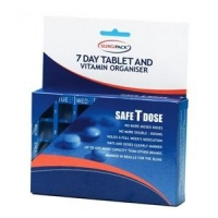 SafeTdose 7 Day Tablet Organiser 6077