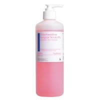 CHLORHEXIDINE 4% SURGICAL SCRUB 500ML EACH