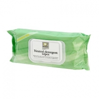 Reynard Neutral Detergent Wipes, pkt50
