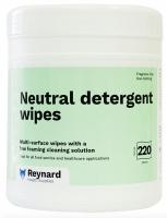 Reynard Neutral Detergent Wipe Cannister, Tub 220