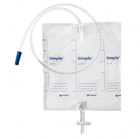 SIMPLA S4 NIGHT DRAINAGE BAG STERILE 2000ML 120CM EACH