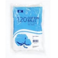 S+M Cotton Wool Balls 10102312, Box 120