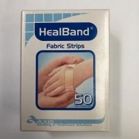 HEALBAND BANDAID STRIPS 2CMx7.2CM, BOX 50