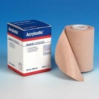 Acrylastic Bandage 10cm x 2.5M Tan, Each