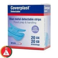 Bandaid Blue Coverplast Visual, Pkt 100
