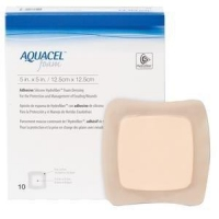 AQUACEL Foam Adh 12.5x12.5cm, Box 10