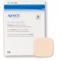 AQUACEL Foam Non Adh. 5cmx5cm, Box 10