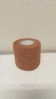 Co-Wrap Cohesive Bandage Tan 25mm x4.5m, each